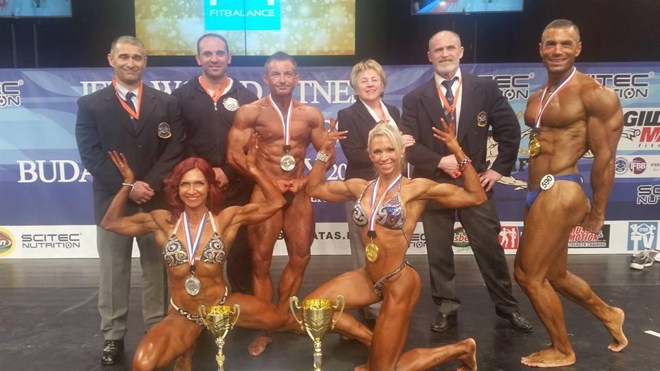 Danijel_Miklecic_Zrinka_Korac_Fiser_viceprvaci_svijeta_bodybuilding_tjelograditeljstvo_2015