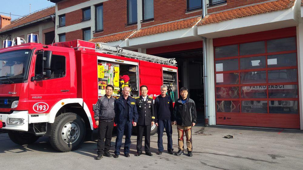 Posjet delegacije vatrogasaca Južne Koreje križevačkim vatrogascima