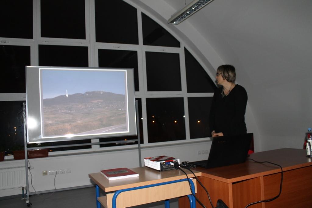 Predavanje o arheološkim istraživanjima na Kalniku (foto: Tatjana Tkalčec)