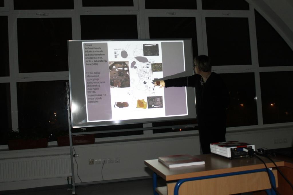 Na predavanju o Kalniku (foto: T. Tkalčec)