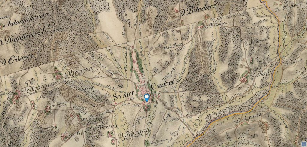 Stadt_Creutz_Habsburg_monarhija_digitalne_karte