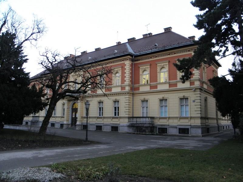 Knjižnica HAZU na Strossmayerovom trgu u Zagrebu (foto: R.Matić)