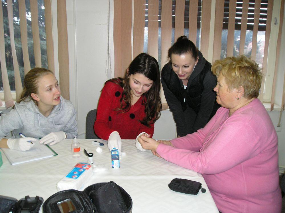 Neobična i zanimljiva suradnja gimnazijalaca i Kluba dijabetičara Križevci