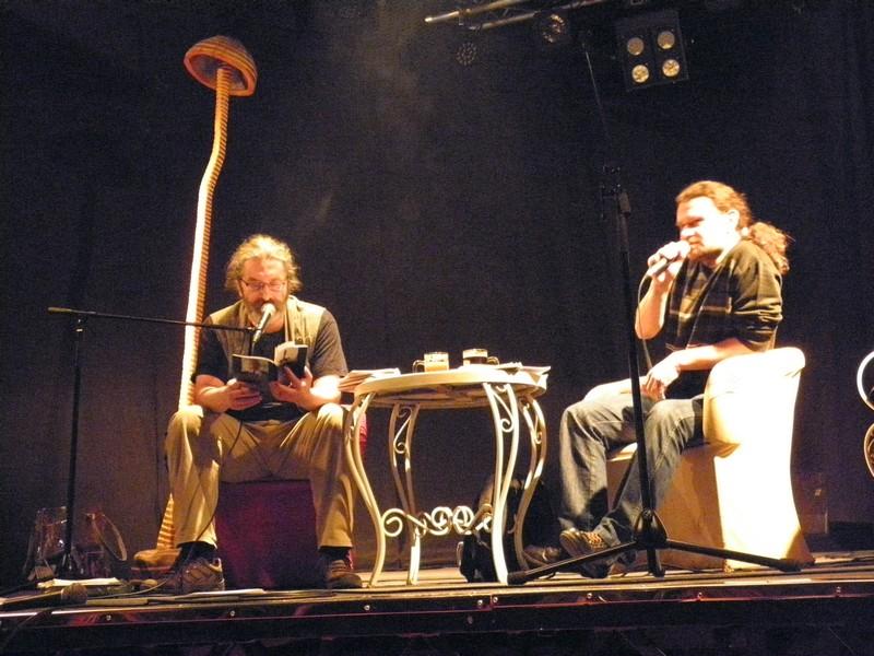 Pjesnički dvoboj na Culture Shocku 26. ožujka 2016. (foto: R. Matić)