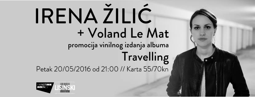 cover  Irena Zilic + Voland Le Mat