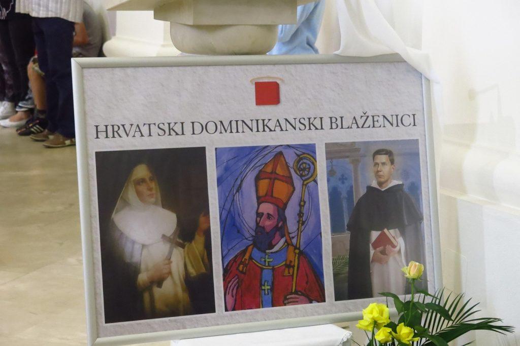 007 Plakat Hrvatski dominikanski blaženici Dani hrvatskih svetaca i blaženika