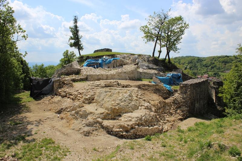 Aktualni izgled utvrde Čanjevo (foto Ozren Blagec, 8. svibnja 2016.) (2)