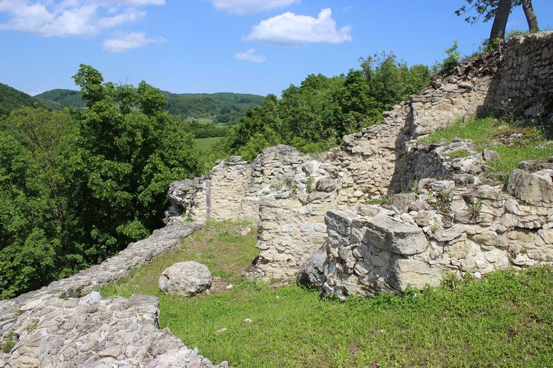 Aktualni izgled utvrde Čanjevo (foto Ozren Blagec, 8. svibnja 2016.)
