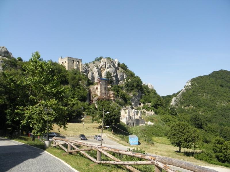 Stari grad Kalnik 29. lipnja 2012. (foto R.Matić)