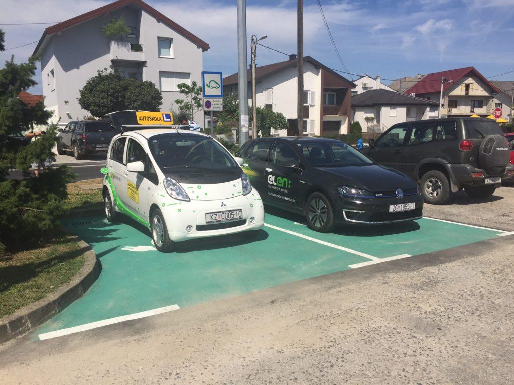 ELEN punionica za elektricna vozila u Krizevcima