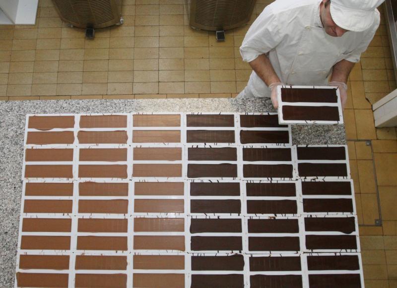 11.12.2014., Krizevci - Tvornica cokolade Hedona u kojoj rade osobe s invaliditetom.  Photo: Marijan Susenj/PIXSELL