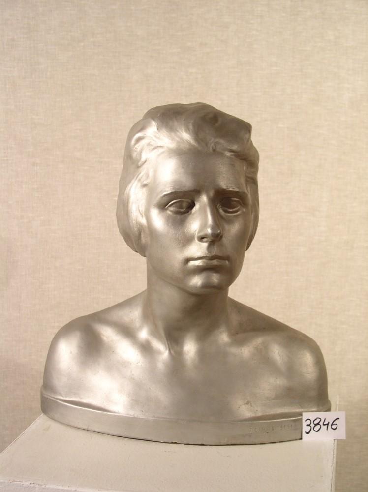 Julije Csikos Sessija: Bista mlade žene (foto: Gradski muzej Krizevci)