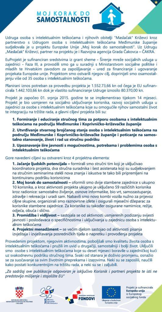 letak_moj_korak_do_samostalnosti_projekt_udruga_maslacak