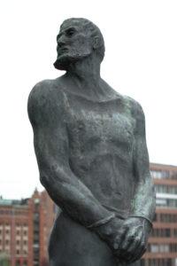 Spomenik piratu Störtebekeru u Hafen Cityju