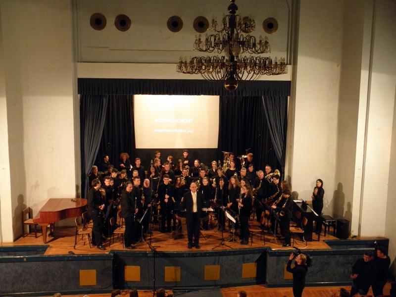 Puhački orkestar Križevci na koncertu 17. prosinca 2016. (foto R. Matić)