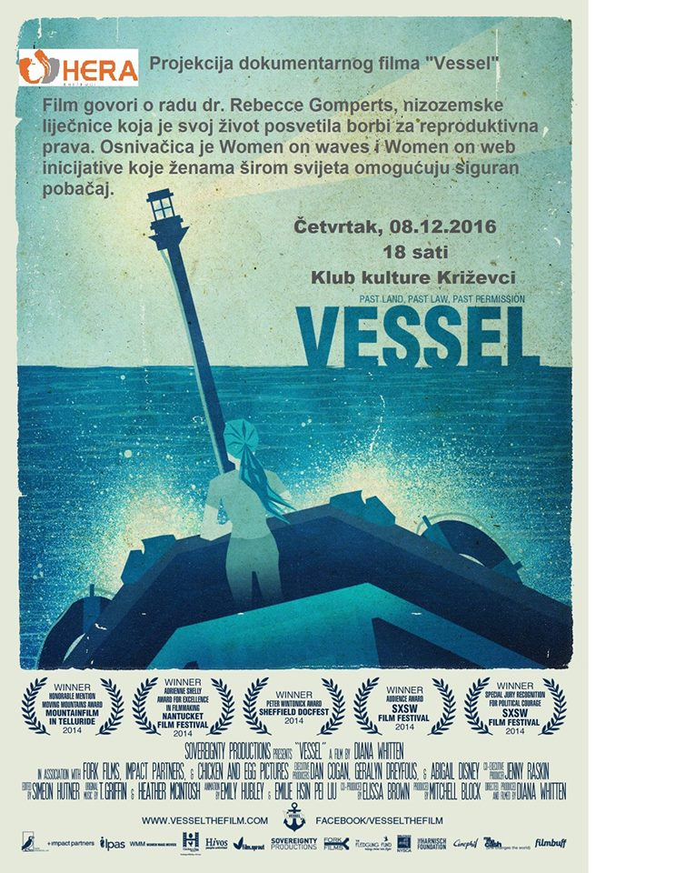 Plakat filma Vessel