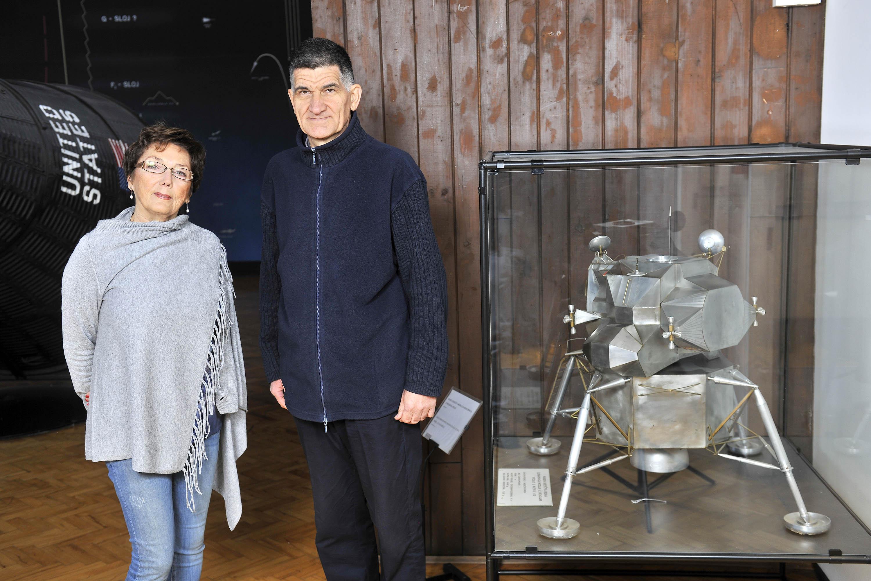 Ekipa Andromede od prvoga dana - Tanja Devčić i Ante Radonić (foto Krasnodar Peršun za HRT)