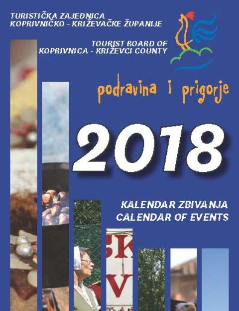 Kalendar manifestacija 2018