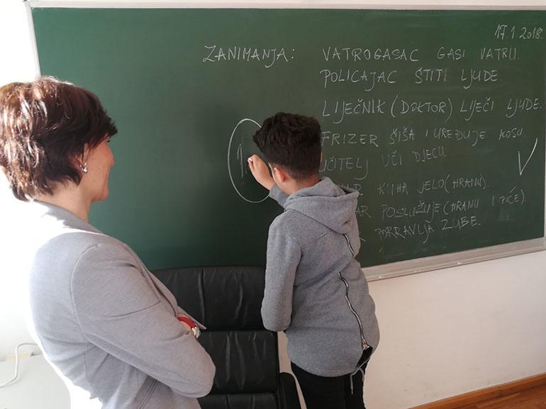 Subhi uči hrvatski, ali i učiteljicu poučava arapski
