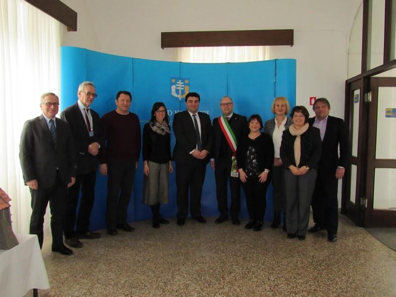 Delegacija Reana del Rojale boravila u službenom posjetu Križevcima