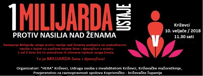 Milijarda ustaje protiv nasilja nad ženama i djevojčicama/One Billion Rising Revolution