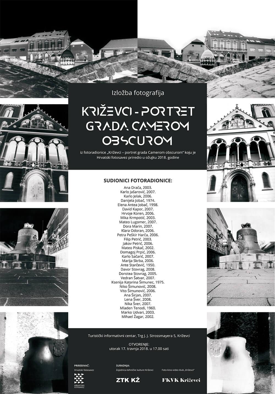 izložba fotografija 'Križevci - portret grada camerom obscurom'