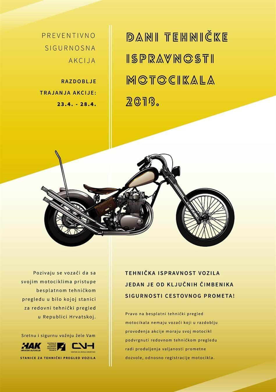 """""""Dani tehničke ispravnosti motocikala 2018"""""""