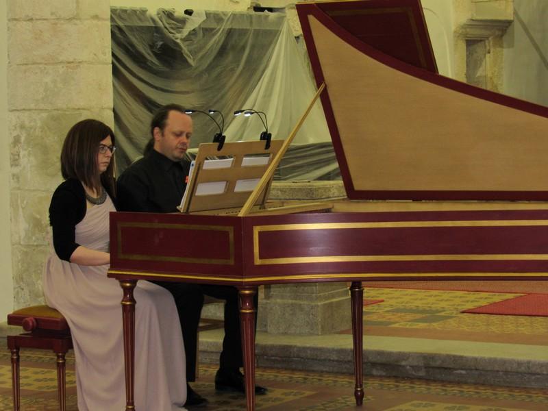 Održan koncert čembalističkog dueta - Zlate Životić i Krešimira Hasa