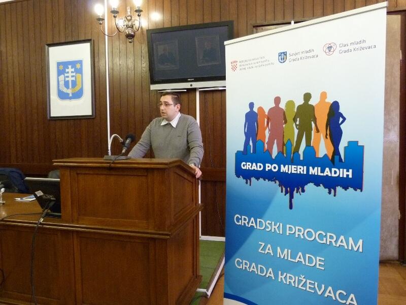 Održana završna konferencija projekta izrade Gradskog programa za mlade Grada Križevaca