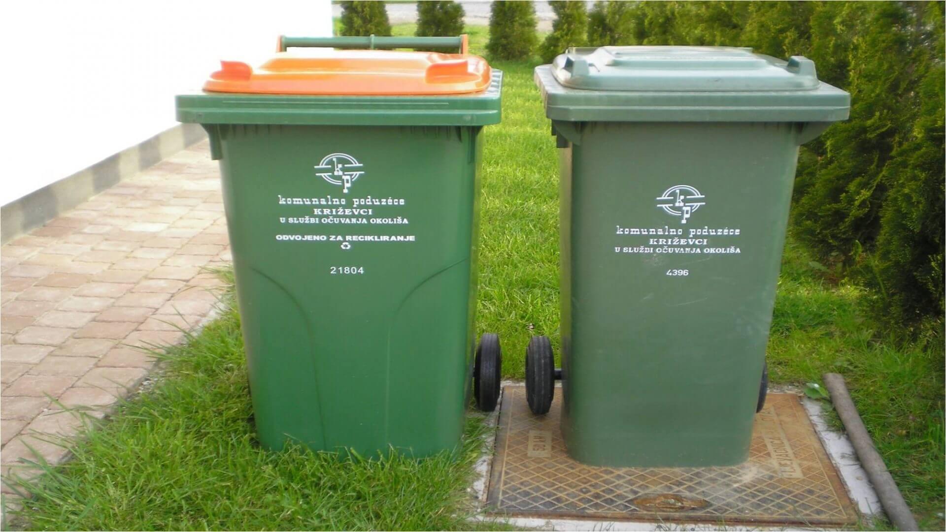 Odvoz smeća komunalno Križevci