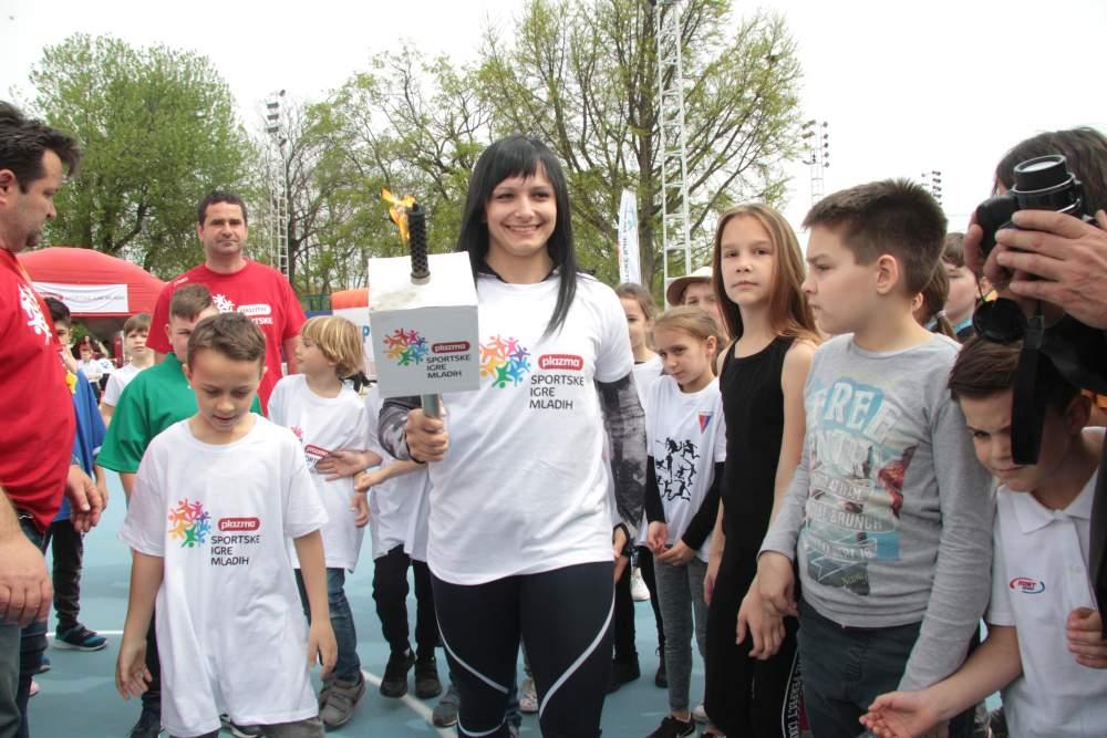 Turneja radosti Plazma Sportskih igara mladih stiže u Križevce 2018