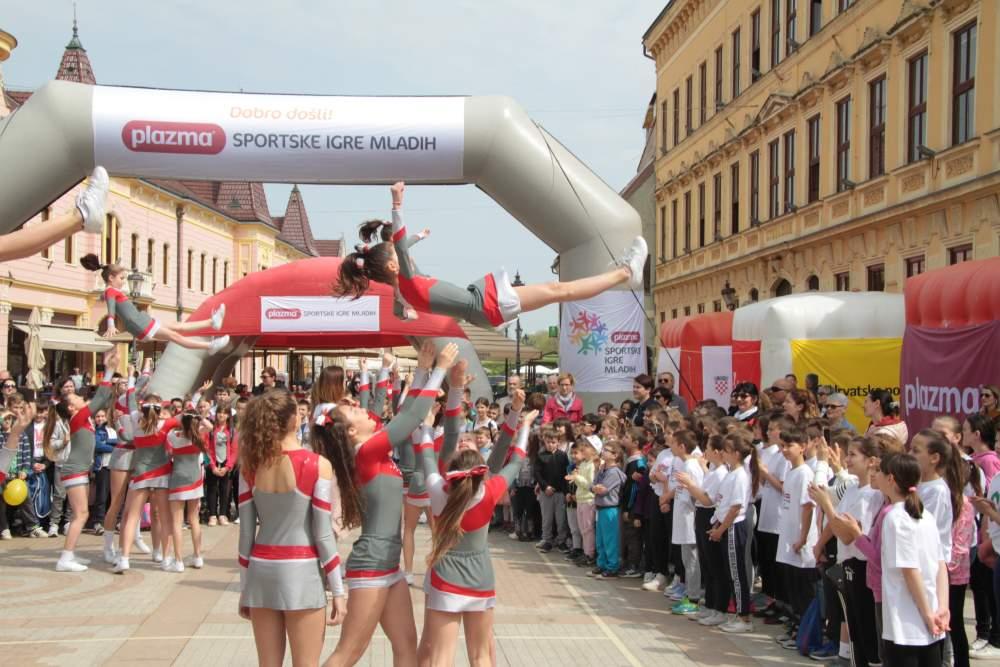 Turneja radosti Plazma Sportskih igara mladih stiže u Križevce