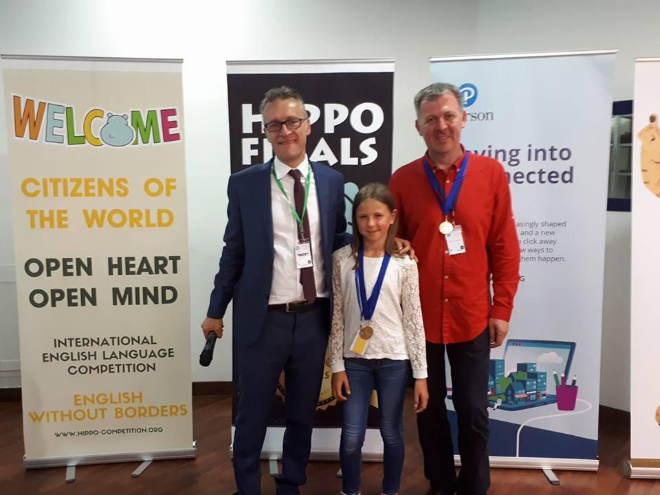 Magdalena Kranjčić prva na međunarodnom natjecanju iz engleskog jezika