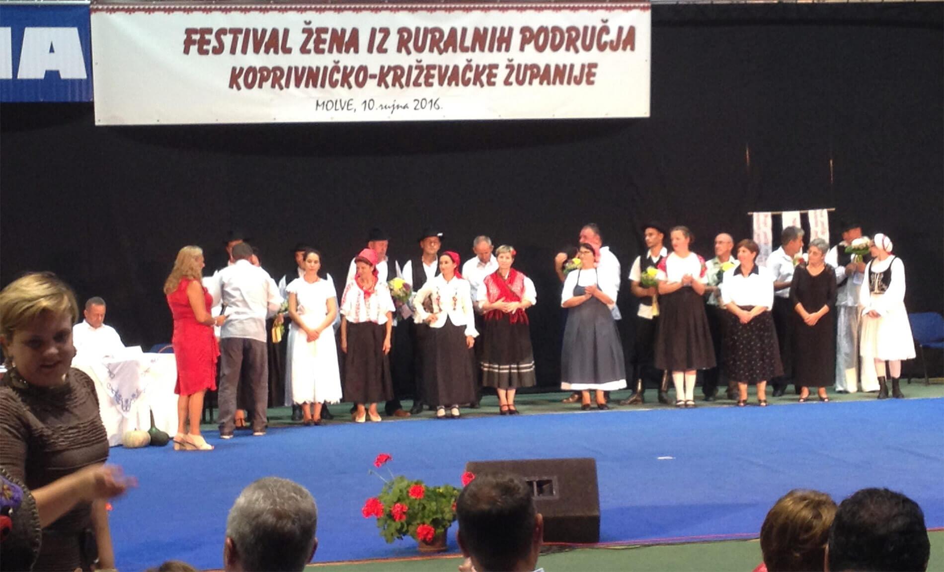 Poziv za prijavu na Festival žena iz ruralnih područja Koprivničko-križevačke županije