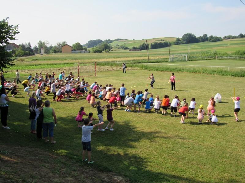 Susret učenika područnih škola u sastavu Osnovne škole Ljudevita Modeca