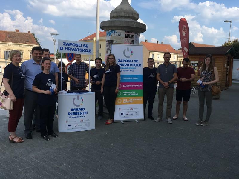 U Križevcima predstavljene aktivnosti HZZ-a u sklopu kampanje Zaposli se u Hrvatskoj