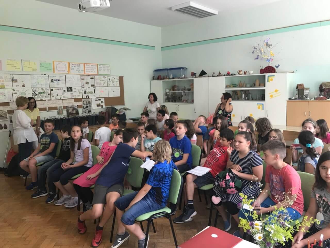Međunarodni projekt čitanja četvrtaše OŠ Ljudevita Modeca Križevci odveo u Sloveniju