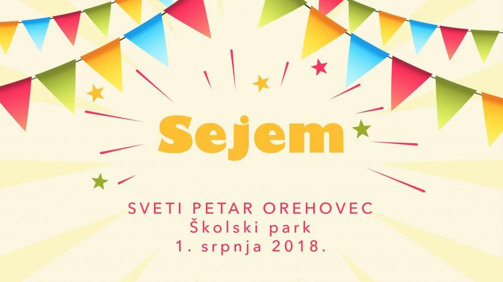 Dođite na Sejem, festival za djecu i mlade u Svetom Petru Orehovcu!