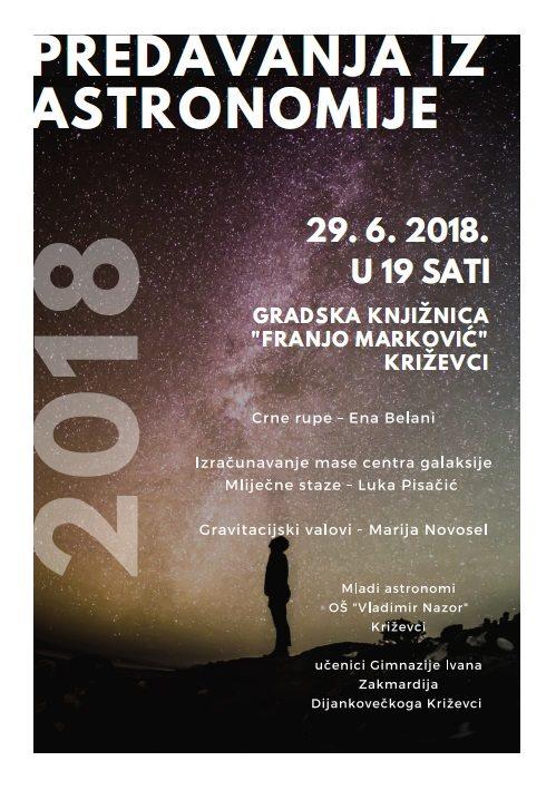 Predavanja iz astronomije