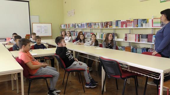Učenici četvrtog razreda učiteljice Marine Golec
