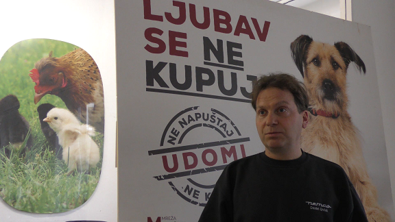 Luka Oman – predjsednik Udruge Prijatelji životinja