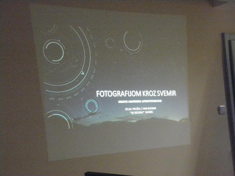 Predavanje i radionica astrofotografije na ljetnoj školi astronomije Udruge Perzeidi 2019. godine (foto R.Matić)