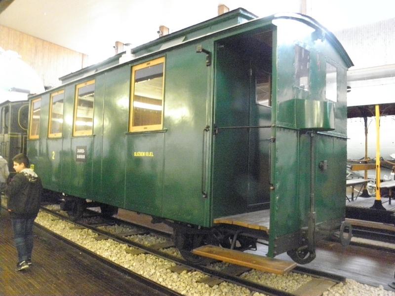 Vagon Samoborčeka u Tehničkom muzeju u Zagrebu (foto R.Matić)