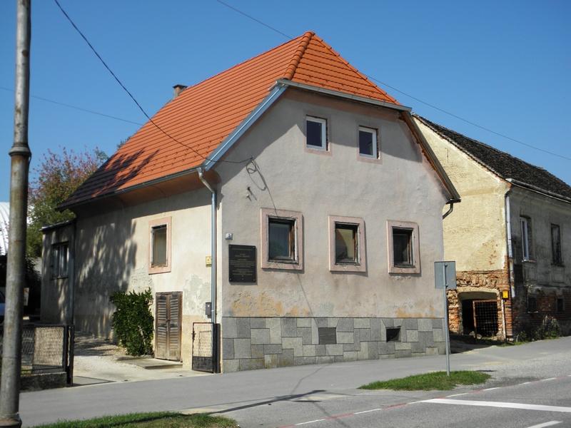 U ovoj kući u križevačkom Gornjem gradu rodio se 31. kolovoza (na datum naše prošle emisije) 1919. Drago Grdenić. Umro je u Zagrebu na datum ove emisije, 7. rujna 2018. godine (foto R.Matić)
