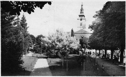 Fotografija Nemčićevog trga (1930.g.), osobna zbirka
