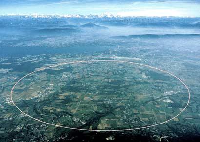 CERN iz zraka