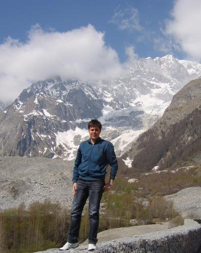 Alpe u blizini Mont Blanca